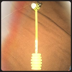 Other - Honey bee honey scoop stir stick
